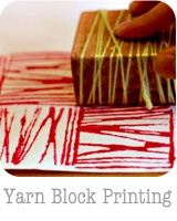 patterns + repetition. http://whipup.net/2011/10/27/guest-blogger-series-printmaking-for-all-ages-yarn-block-prints/