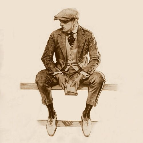 17 Best Images About 1920s, 1930s And 1940s Mens Fashion