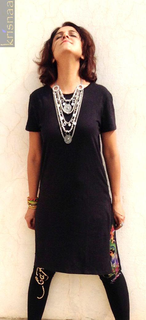 The Tribal necklace Available at Krisnaa Sharmila Ahuja