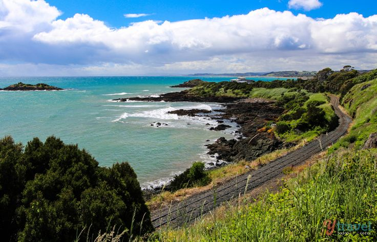 Coastline near Penguin, Tasmania, Australia