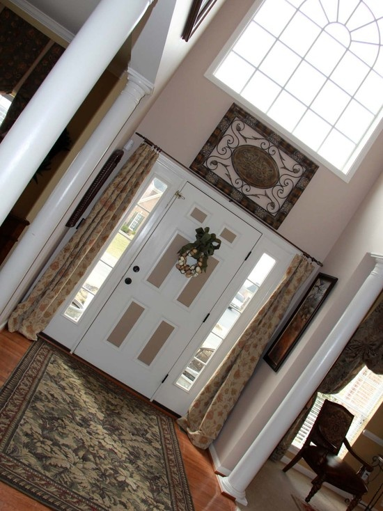 Story Foyer Decorating Pictures : Best ideas about two story foyer on pinterest