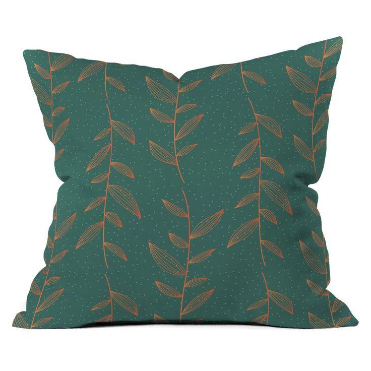 DENY Designs Gabi Of The Vine Blue Throw Pillow - 16465-OTHRP20
