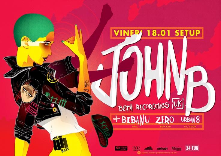 John B @ Setup Venue Timisoara