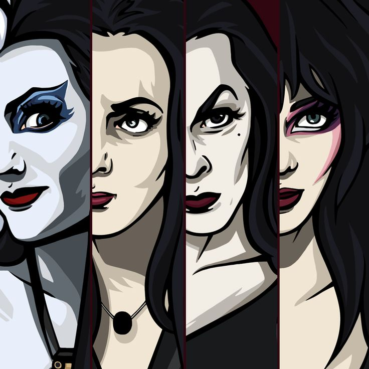 Ladies of Darkness by Sabrina Parolin