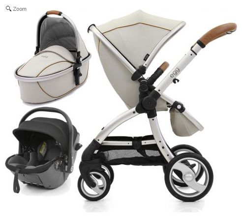 egg 3in1 i-Size Stroller Travel System-Prosecco. See more at http://www.parentideal.co.uk/kiddies-kingdom---babystyle-egg.html or click on image to visit shop direct and view current prices.  #Egg #Babystyle #BabystyleEgg #EggPushchair #EggPram #Pram Babystyle Egg pushchair travel system for baby boys and girls with carrycot and car seat.