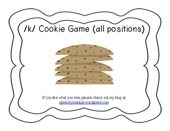 K Articulation Cookie Game FREE