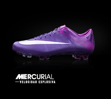 Nuevas botas Nike Mercurial.