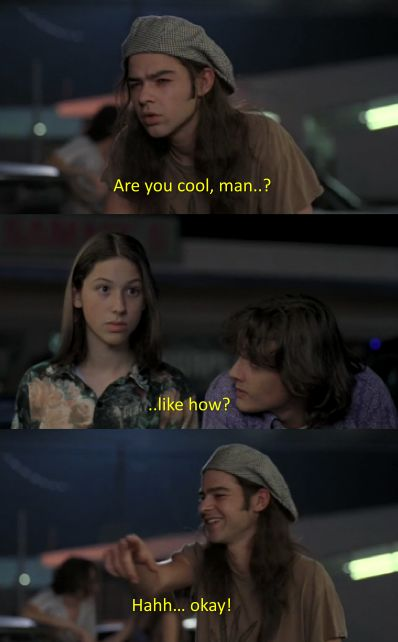 Dazed And Confused <3 favorite part of that movie ^__^ i geeked so hard