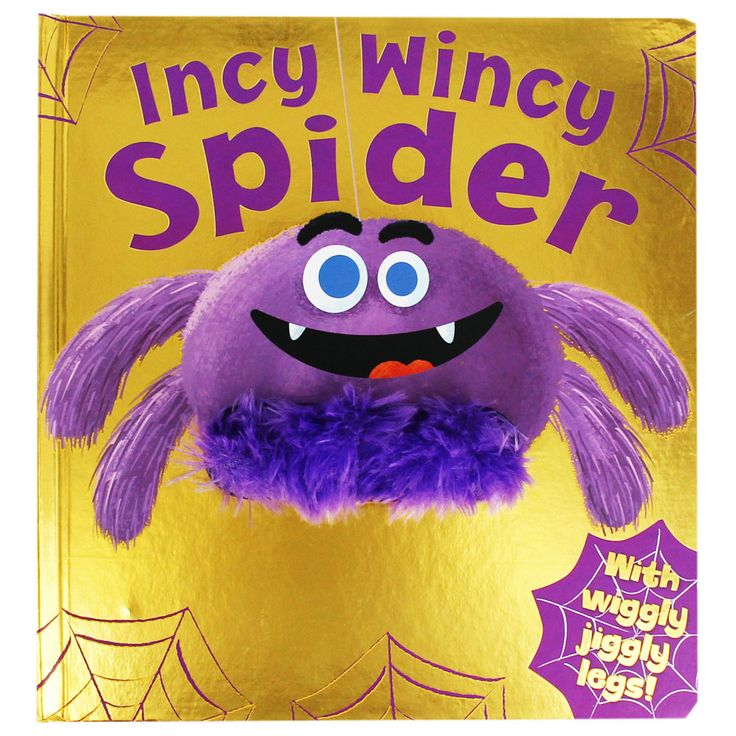 Incy Wincy Spider - Interactive Puppet Book by Igloo Books | Interactive Children's Books at The Works