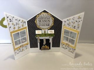 The Craft Spa - Stampin' Up! UK independent demonstrator : May the Magic of the Season... Winter Wonderland Room with A View....
