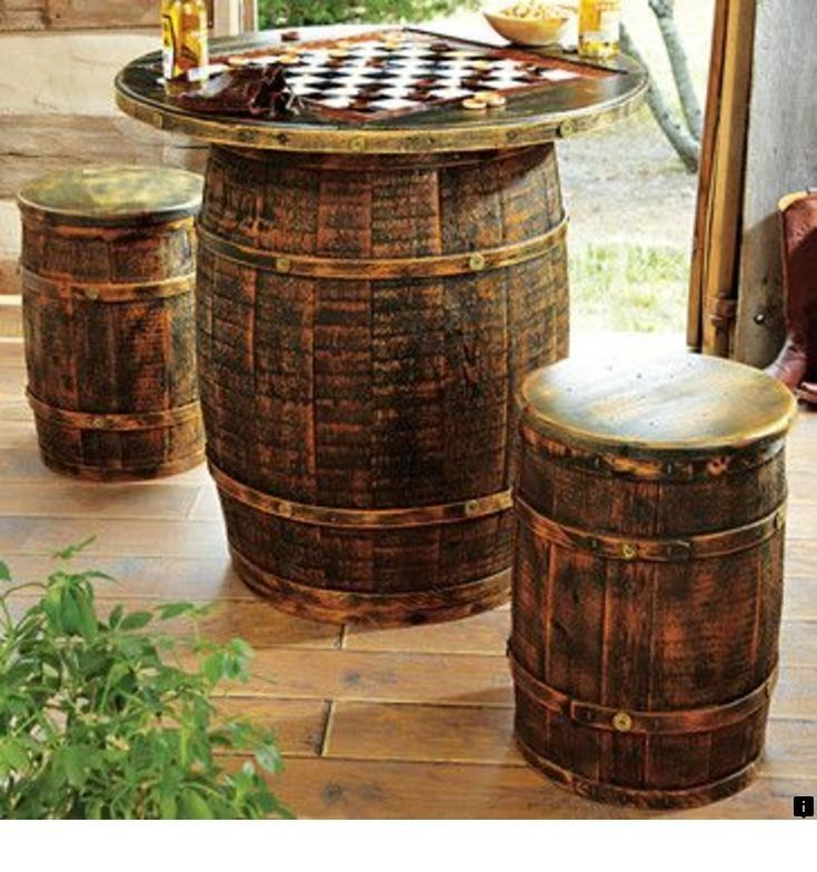 Follow The Link For More Information Round Bar Table Click The Link To Get More Information Enjoy The W In 2020 Whiskey Barrel Decor Barrel Decor Saloon Decor