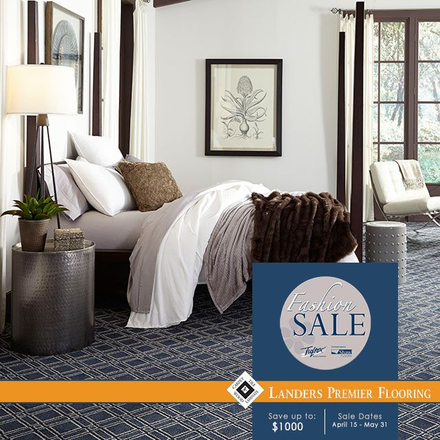For a limited time, save up to $1,000 on your Tuftex® carpet purchase at Landers Premier Flooring! Both Tuftex - Anso® nylon and STAINMASTER® nylon carpet qualify for the rebate! www.landerspremierlfooring.com