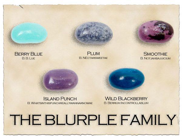 Blue and Purple = Blurple