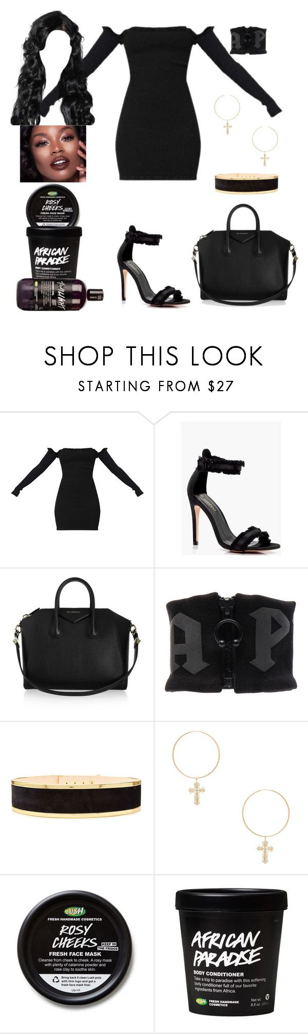 """""""Carnival Date: Sep 8"""" by allison-syko ❤ liked on Polyvore featuring Boohoo, Givenchy, Puma, Balmain and ERTH"""