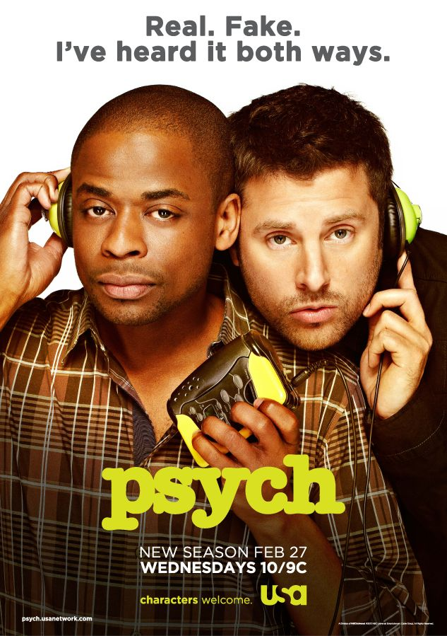 I cast my vote for the final tagline to appear on the Psych Season 7 poster. Vote for your favorite now and find out the winner on Friday, January 18th.