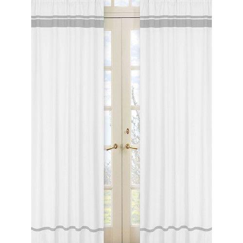 Sweet Jojo Designs Hotel Cotton Rod Pocket Curtain Panel & Reviews   Wayfair