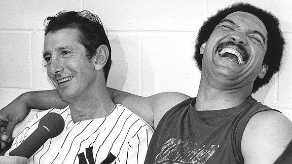 Billy Martin & Reggie Jackson
