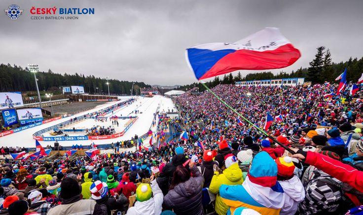 Biatlon. SP Nové město na Moravě 2016