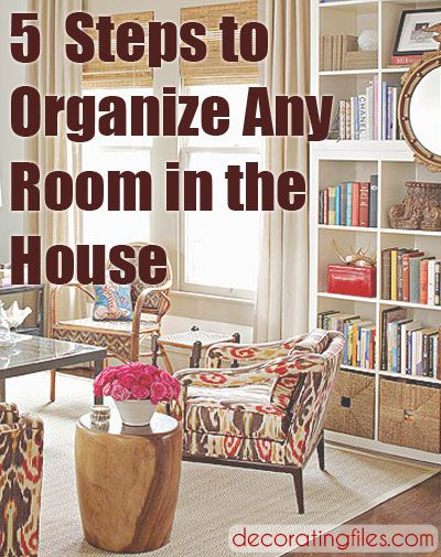 How To Organize Your Room   Any Room   In 5 Steps | Decorating Files |