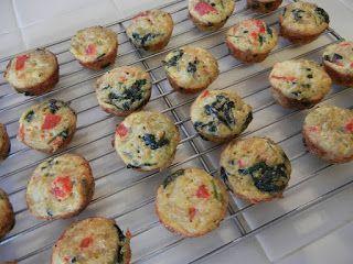 Egg  quinoa muffins
