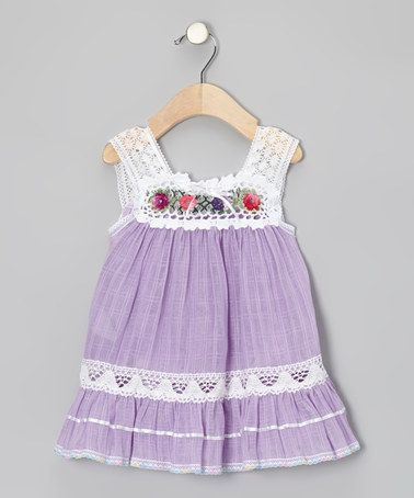 Take a look at this Lilac Nathaly Ibiza Dress - Infant, Toddler & Girls by Little Cotton Dress on #zulily today!