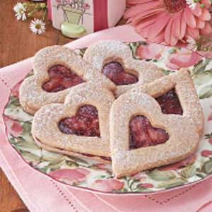 Linzer Heart Cookies...So Pretty for Valentines Day Or Just Change the Cookie Cutter For Other Occasions