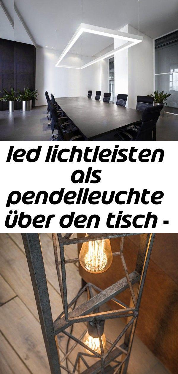 Led Lichtleisten Als Pendelleuchte Uber Den Tisch Nolita Out 10 Entryway Tables Home Decor Home