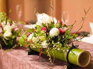 【ウェディング】おしゃれな和のテーブルコーディネート・装花まとめ【結婚式・披露宴】 - NAVER まとめ