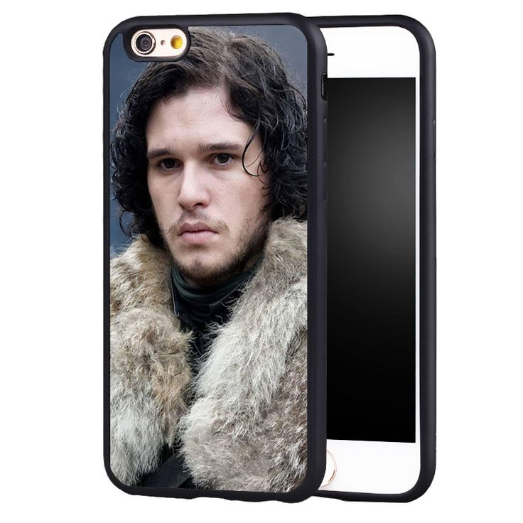 jon snow game of throne Phone Case For iPhone 6 6S Plus 7 7 Plus 5 5S 5C SE Rubber Back Cover Shell - Direwolf Shop Direwolf Shop