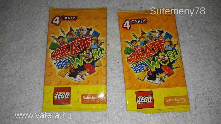 Create the World 2x4 darabos bontatlan új LEGO kártyacsomag gyerekeknek akár 1 Ft - ért - 1 Ft - Nézd meg Te is Vaterán - Lego Movie - http://www.vatera.hu/item/view/?cod=2549757332