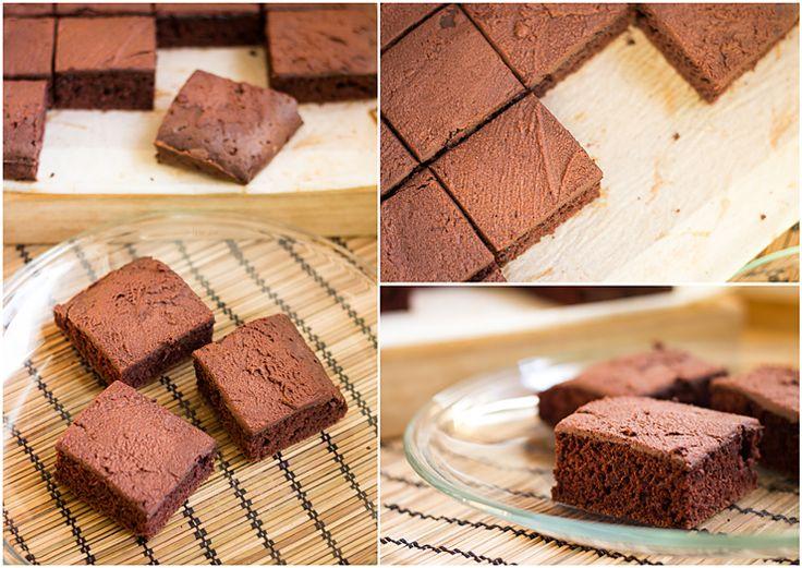 Kakaový koláč (bez vajec) « Tina