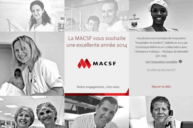 """※ PHOTOGRAPHIE ※ Les photos de l'Exposition """"Hospitalier en Lumière"""" réalisées pour la #MACSF et les Hôpitaux de #Marseille, à re-découvrir dans une carte de vœux électronique. http://www.macsf.fr/voeux/"""