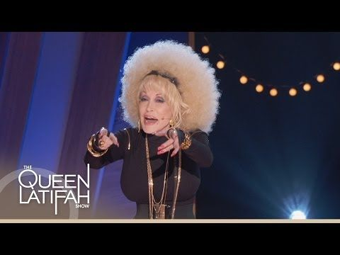 ▶ Dolly Parton Raps for Queen Latifah - YouTube Haha.. now I have officially seen everything.
