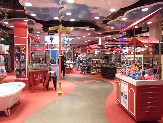 hamlets toy store in london love the clouds add some hot air gallons for