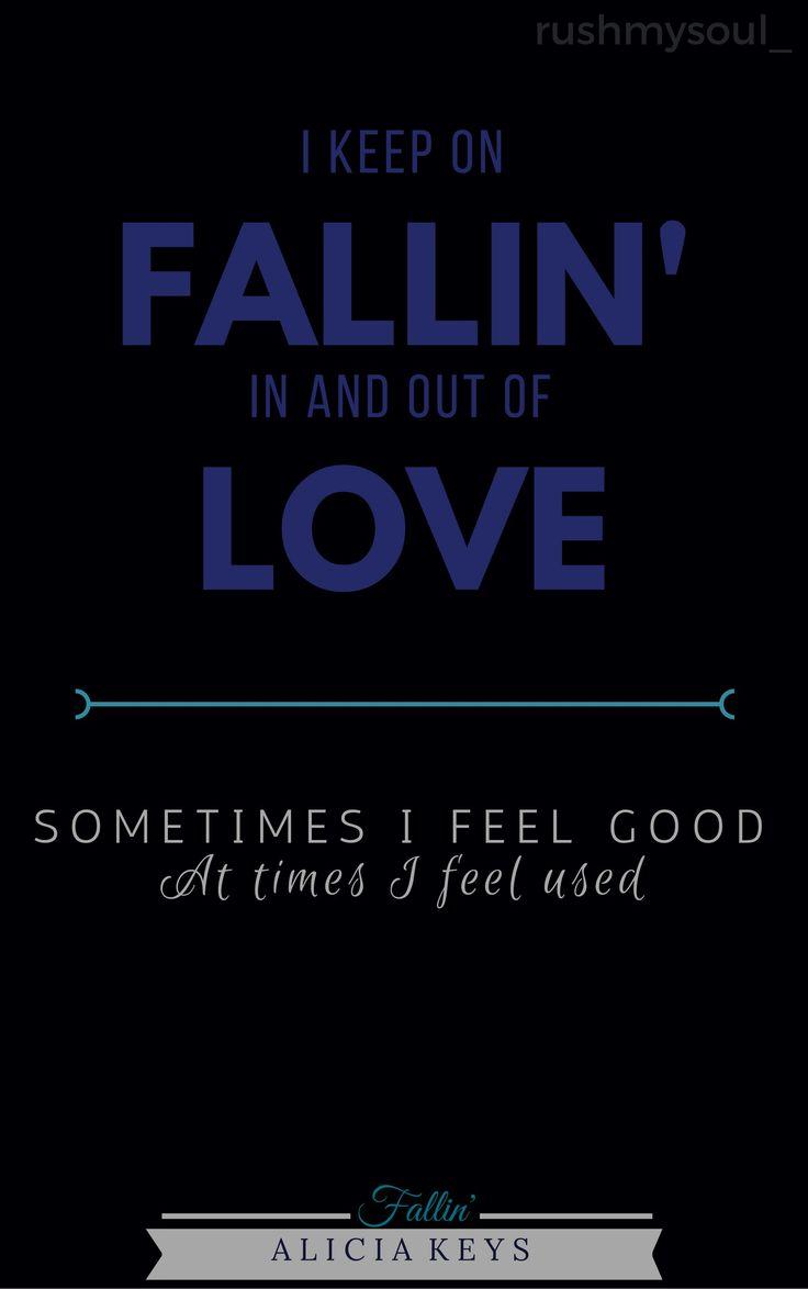 Lyrics of Fallin' by Alicia Keys (2001)