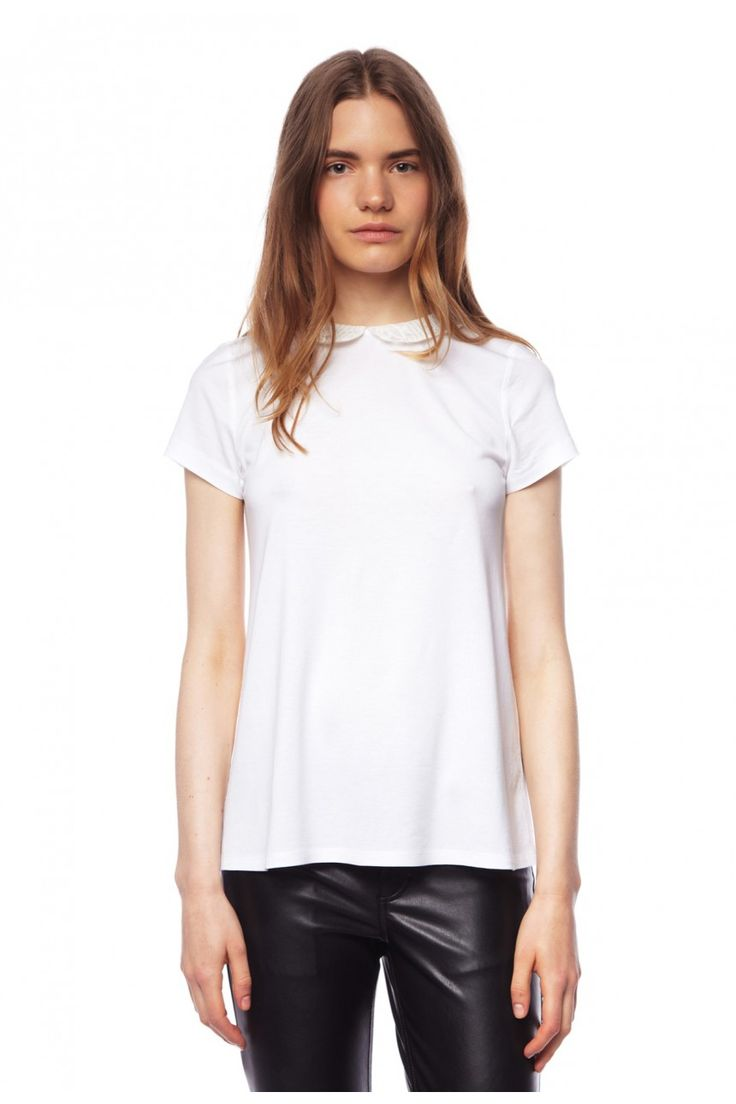 T-shirt TRICHEUSE VANILLE - Top Femme - Claudie Pierlot