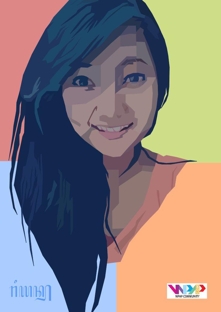 WPAP 8th project Model: @nillacaa_AJN Software: Inkscape Wpaper: @Ryan23__