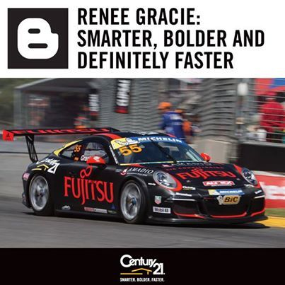 CENTURY 21 Australasia today announced its sponsorship of race car driver Renee Gracie, who at 18 is not only one of the youngest professional drivers in Australia, but is also the first ever female competitor in the Porsche Carrera Cup Australia series.