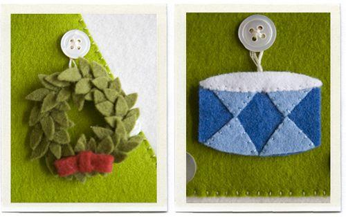 inchmark - Felt advent calendar - Christmas tree