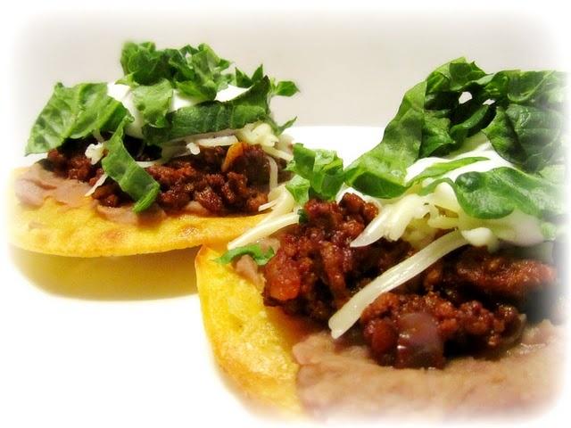 Beef Tostadas | To Make... savory | Pinterest