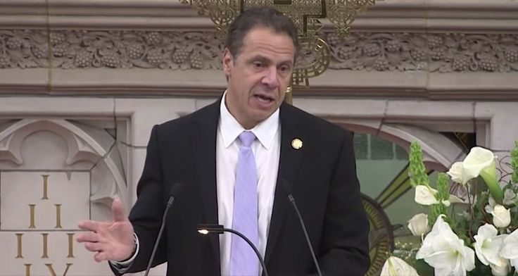 Defiant, New York Gov. Declares State A Safe Haven For Immigrants, People Of Color, LGBTQ Community – Video  Governor Andrew Cuomo affirms New York's commitment to be a safe haven against the hatred and bigotry sweeping the country in the wake of the election.