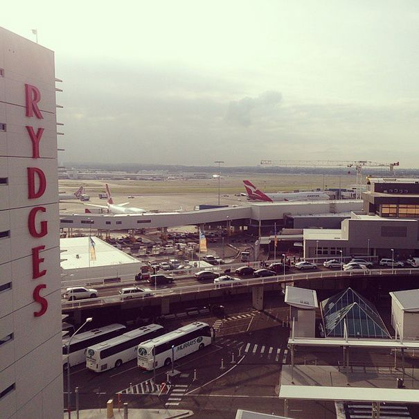 Rydges Sydney Airport is perfect for the plane spotter in you. One of our guests, ll_cool_w, loved the unique view!