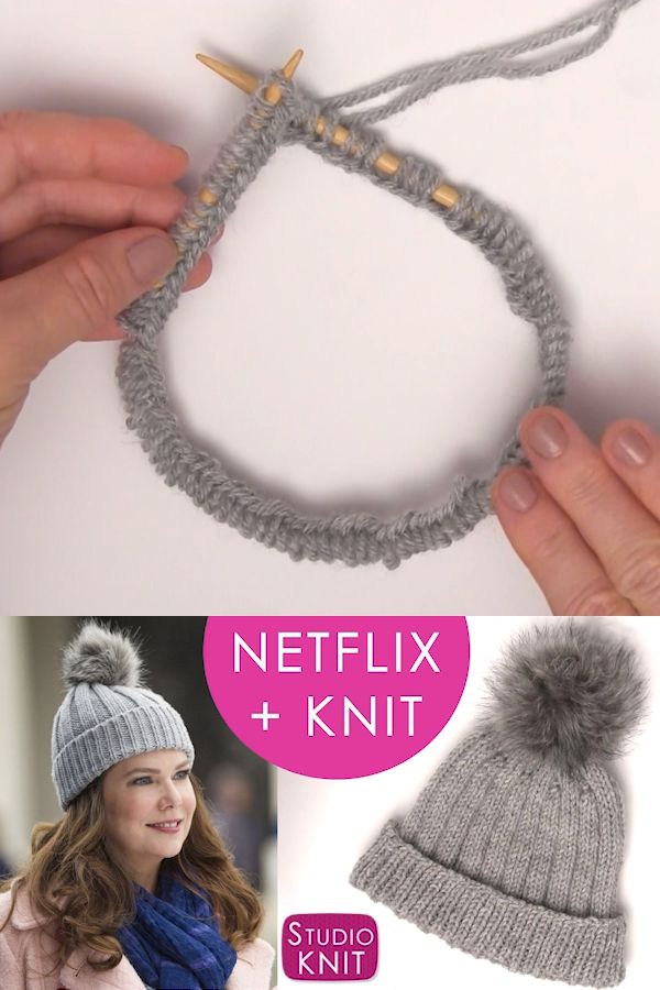 How to Knit a Gilmore Girls Hat Pattern