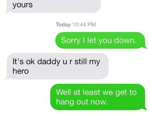 "Denver Broncos Player Gets Comforting Text From Son After Losing The Super Bowl ""It's ok daddy u r still my hero."""