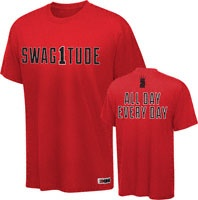 NEW ARRIVAL: Swagitude Red/Black T-Shirts- 21KING by Stacey King - http://www.fansedge.com/Chicago-Bulls-Stacey-King-Swagitude-T-Shirts-_501126134_PG.html?social=pinterest_sk_swag  #ChicagoBulls