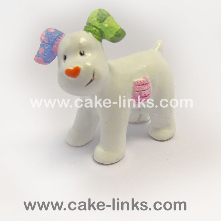 The Snowdog - Raymond Briggs (The Snowman and the Snowdog) cake topper