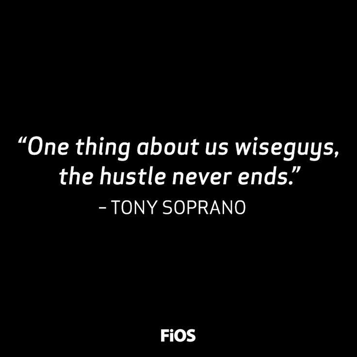 Tony Soprano Quote  The addict brain is always on the hustle. ~Kimberly