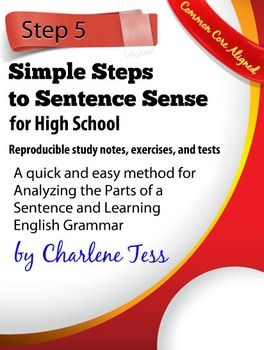 how to make simple sentences in english