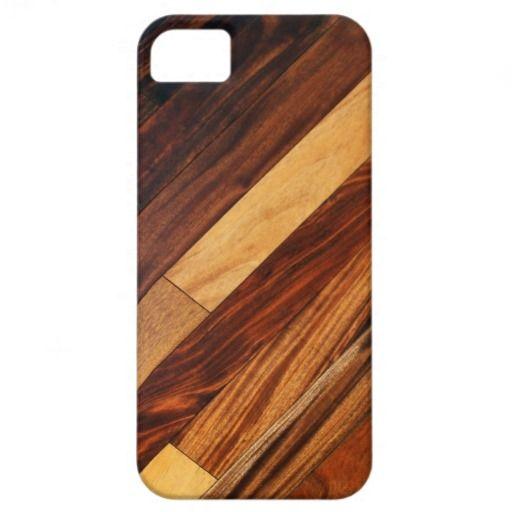 Diagonal Wood Flooring iPhone 5 Case