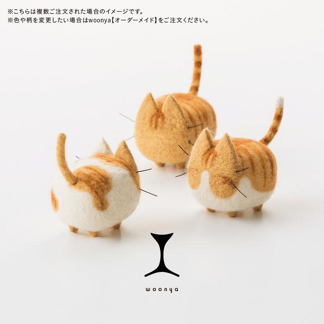 woonya【chatora】 猫/cat/羊毛フェルト/Needle Felting